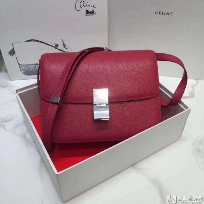Celine Box手袋又出新款了,高仿Celine包包海外代购品质