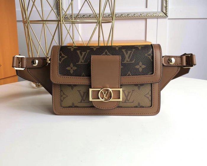LV DAUPHINE 腰包,高仿奢侈品LV包包时尚女款包袋