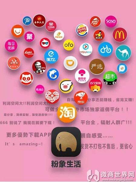 粉象生活app購物安全嗎擴金財團說還能賺錢?