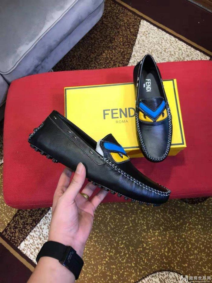 奢侈品大牌男鞋货源 欧美时尚皮鞋工厂直销货源
