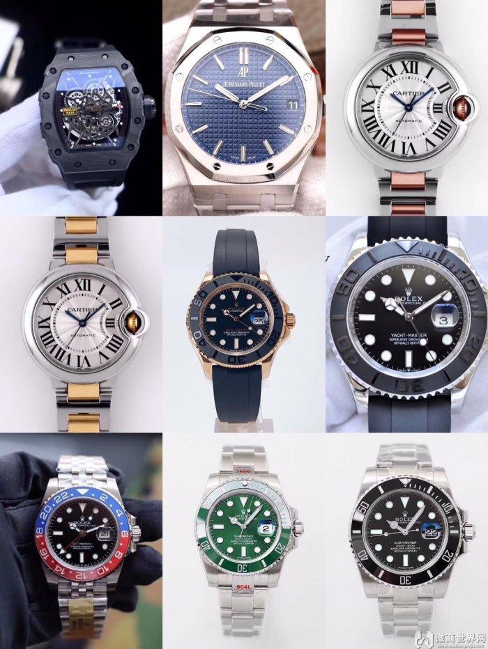 微商复刻手表货源,货到付款,一件代发