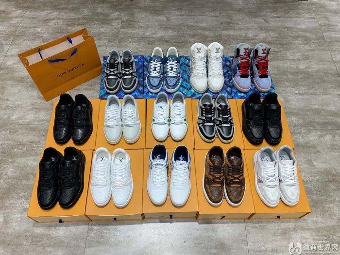 原单奢侈品鞋子货源 复刻版男鞋工厂直销一手货源