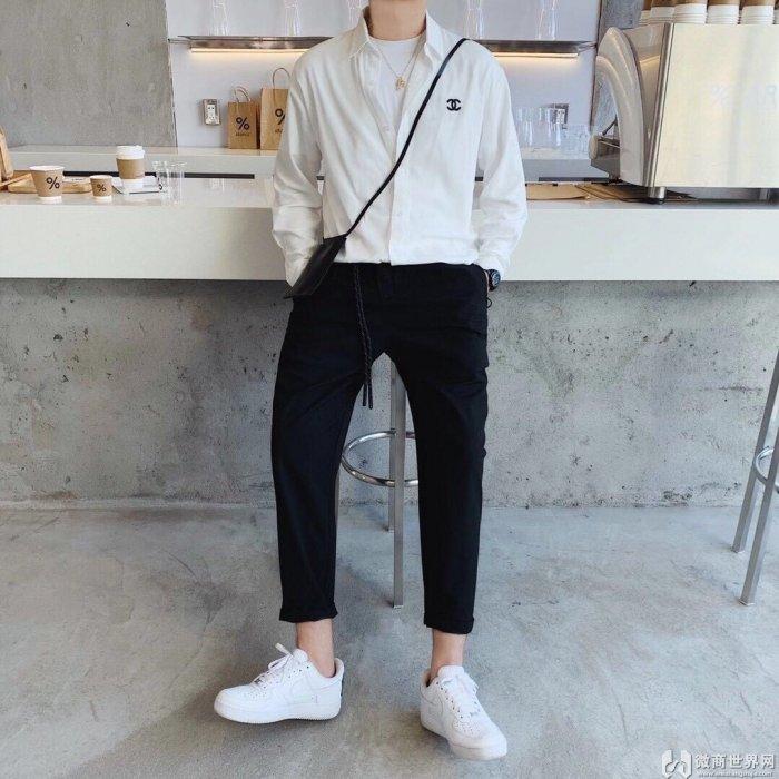 广州中高档欧货大牌男装拿货市场A货服装批发