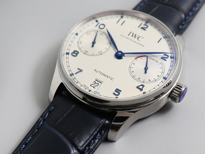 ZF厂万国葡七复刻手表v5版实拍图片