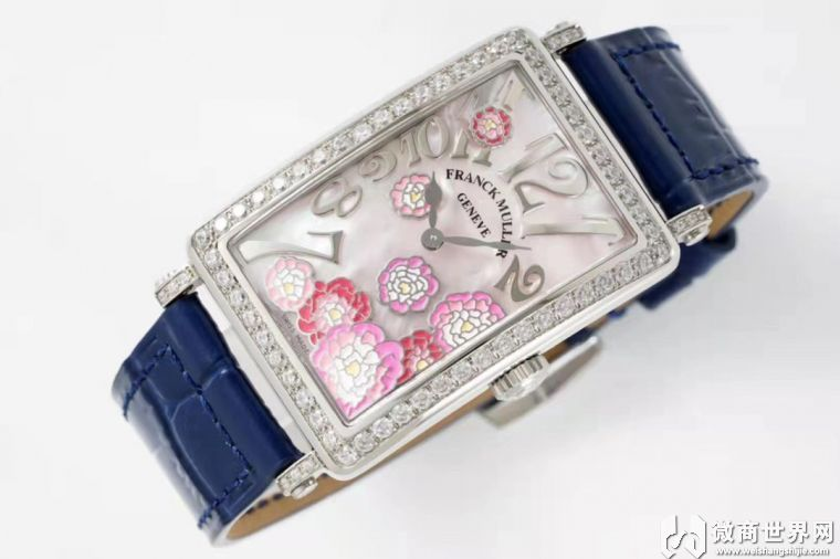 ZF厂高端复刻手表法兰克穆勒女士手表哪里买靠谱
